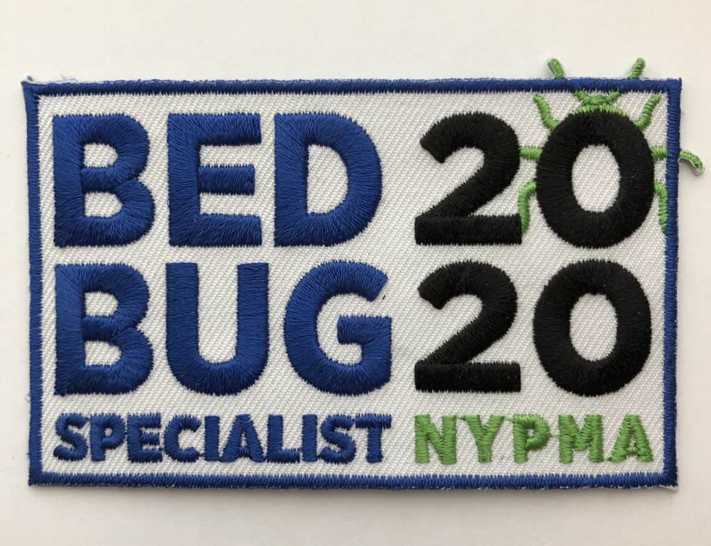 Best bed bug steamer! Bed Bug Specialist patch for NYPMA 2020