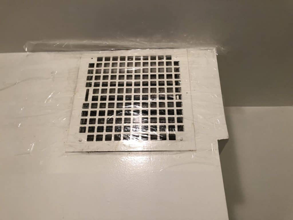 A bathroom vent can be a reason why a bed bug gets into your apartment.